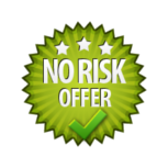 No Risk Offer - Burst Badge Green