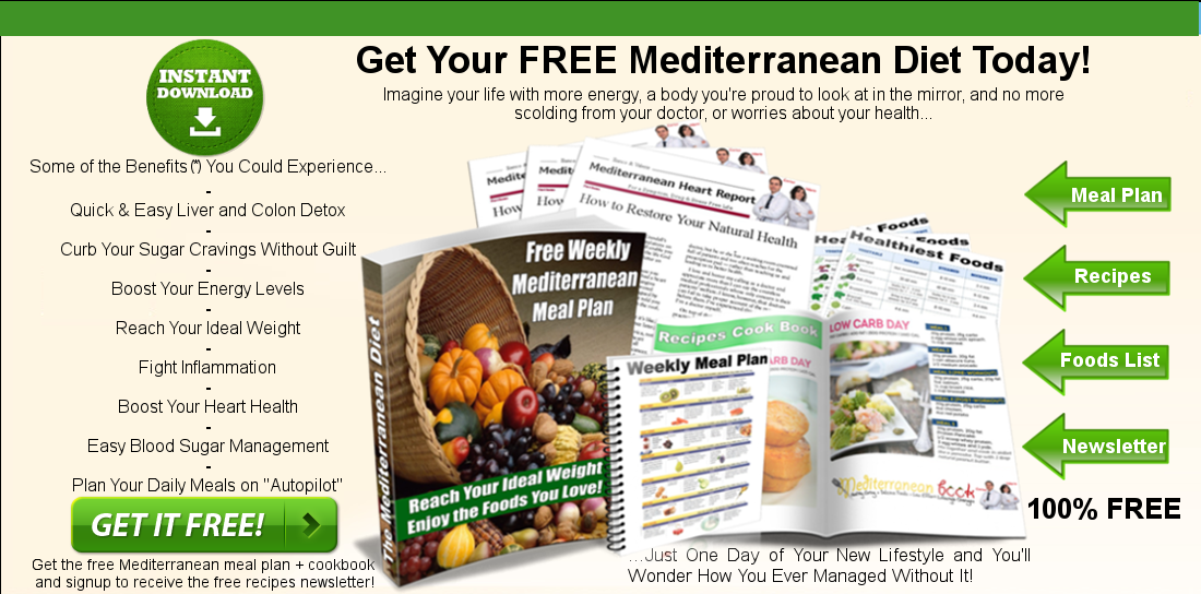 Download free cookbook with weekly mediterranean diet meal plan please fill out the form below to receive instantly the newsletter with recipes and the weekly mediterranean meal plan via email forumfinder Image collections
